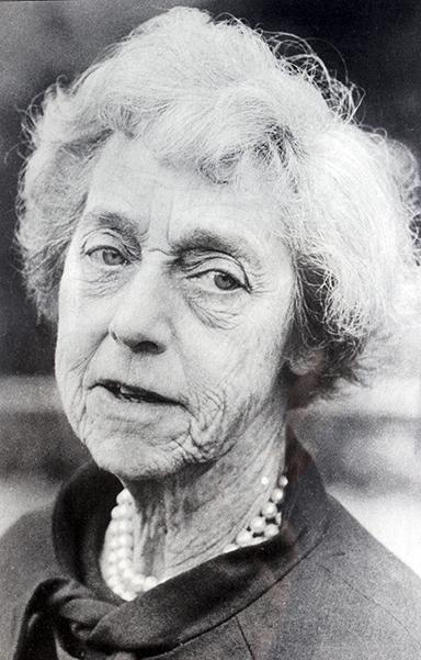 Dorothy Elmhirst (As seen on the wall in the Dartington Bindery)