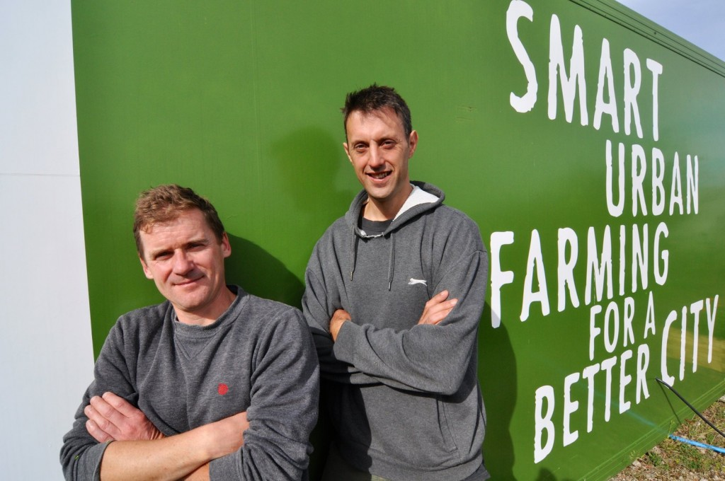 (L-R) Dermot O'Regan and Pete Whiting, Grow Bristol