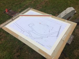 Mapping the gravestones in St Mary's Old Church Yard