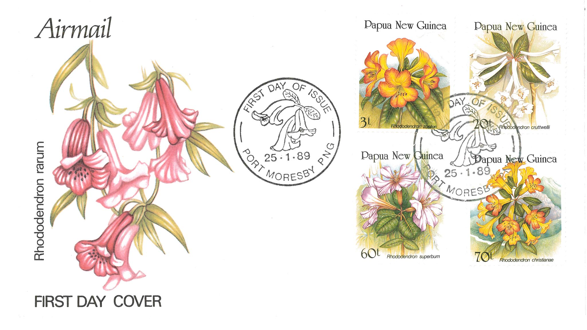 Mary's Papua stamps
