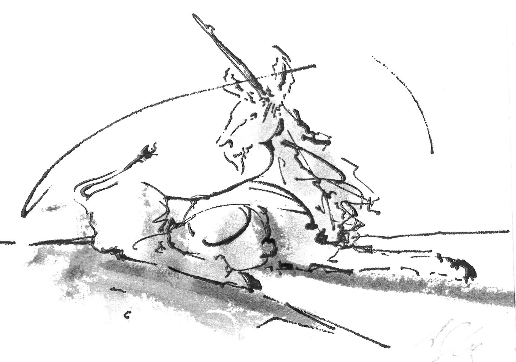 Andrew Lacey's illustration for Mary's Guardian pamphlet