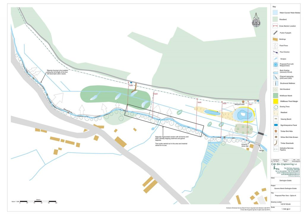 Proposed Plan View for Queen's Marsh development
